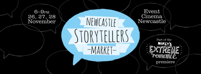 Newcastle Storytellers Market - tonight!
